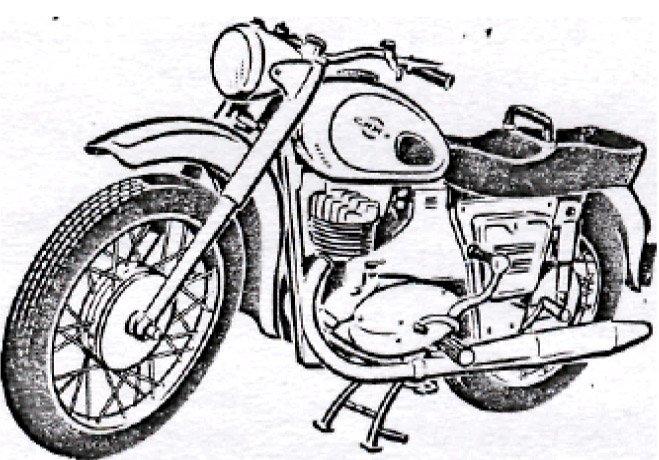 мотоцикл иж